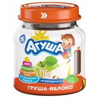 Пюре Агуша яблоко и груша с 5мес. 115г