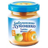 Пюре Бабушкино лукошко тыква, яблоко с 5мес. 100г