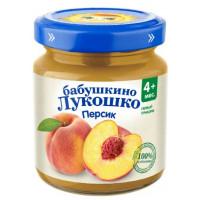Пюре Бабушкино лукошко персик с 4мес. 100г