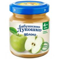 Пюре Бабушкино лукошко яблоко с 3,5мес. 100г