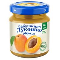Пюре Бабушкино лукошко абрикос с 4мес. 100г