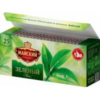 Чай Майский зеленый 25пак. 50г