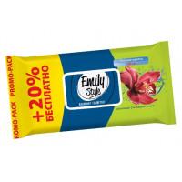 Салфетки Арвитекс Эмили Стайл влажные райские цветы 120шт