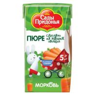 Пюре Сады Придонья морковь 125г