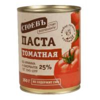 Паста томатная Стоевъ ГОСТ 360г ж/б