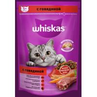 Корм для кошек Вискас подушечки с паштетом говядина 350г