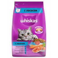 Корм для кошек Вискас вкусные подушечки с лососем 1,9кг