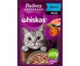 Корм для кошек Вискас Рыбная Коллекция лосось желе 85г