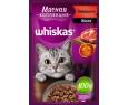 Корм для кошек Вискас Мясная Коллекция говядина желе 85г