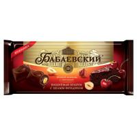 Шоколад Бабаевский Вишневый брауни с цельным фундуком 165г