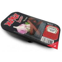 Гренки Хруст бокс с чесноком с вложением кетчупа томатного Хайнц 80г