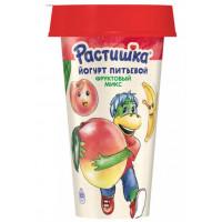Йогурт Растишка питьевой фруктовый микс 2,8%190г