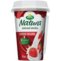 Коктейль Арла Натура молочный со вкусом клубники 1,4% 200мл