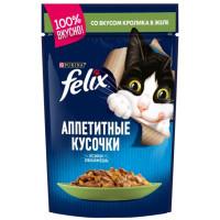 Корм для кошек Феликс с кроликом 85г