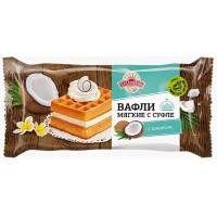 Вафли Аладушкин гофры с суфле и кокосом 122г