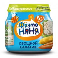 Пюре Фруто-няня овощной салатик 80г