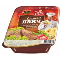 Лапша Бизнес ланч с ароматом говядины 90г лоток