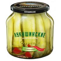 Огурчики Лукашинские бутербродные по-европейски 670г