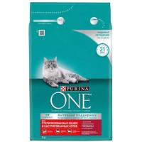 Корм для кошек Пурина Ван для стерилизованных кошек и котов с говядиной и пшеницей 3кг