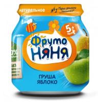 Пюре Фруто-няня яблоко/груша 100г