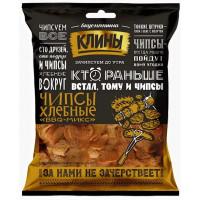 Сухарики Клины Хлебные чипсы со вкусом барбекю микс 100г