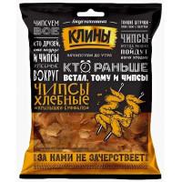 Сухарики Клины Хлебные чипсы со вкусом крылышек Буффало100г