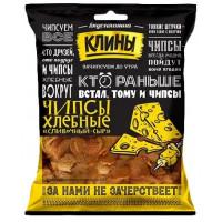 Сухарики Клины Хлебные чипсы со вкусом сливочного сыра 100г