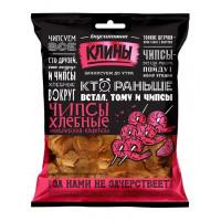Сухарики Клины Хлебные чипсы со вкусом королевской креветки 100г