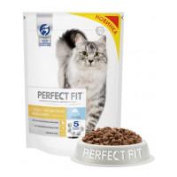 Корм для кошек Перфект Фит лосось для чувствительных 650г