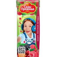 Морс Сады Придонья лесные ягоды 0,2л