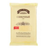 Сыр Брест-литовск сливочный 50% брусок 500г