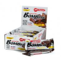Батончик Бомббар протеиновый неглазированный двойной шоколад 60г