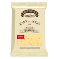 Сыр Брест-литовск классический 45% брусок 500г