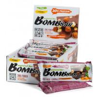Батончик Бомббар протеиновый неглазированный шоколад-фундук 60г