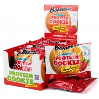 Печенье Бомббар Клубника протеин 60г