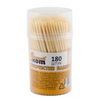 Зубочистки ТР-180 Рыжий кот бамбуковые 180шт