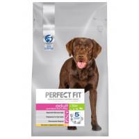 Корм для собак Перфект Фит для взрослых собак крупных пород курица 2,6кг