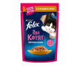 Корм для котят Феликс аппетитные кусочки курица в желе 85г