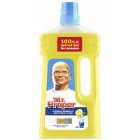 Жидкость моющая Мистер пропер для полов и стен лимон 1л