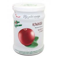 Клюква Ягоды карелии протертая с сахаром 280г