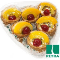 Набор пирожных Петра Королевское с фруктами 350г