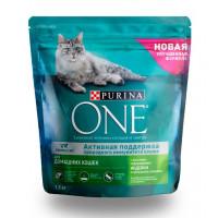 Корм для кошек Пурина Оне с индейкой и цельными злаками 1,5кг