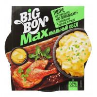 Пюре картофельное БигБон макс по-домашнему с кусочками тушеной курицы 110г