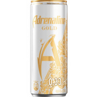Напиток безалкогольный Адреналин Голд Вайт 0,33л ж/б