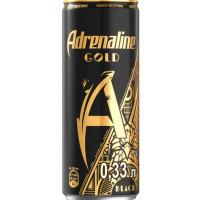 Напиток безалкогольный Адреналин Голд Блэк 0,33л ж/б