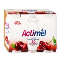 Напиток кисломолочный Актимель вишня черешня жир.2,5% 100г