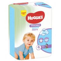 Трусики Хаггис для мальчиков (4) 9-14кг 17шт