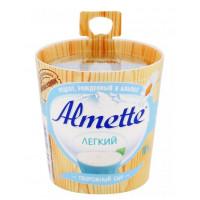 Сыр Альметте творожный легкий 18% 150г бочонок