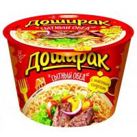 Лапша Доширак сытный обед вкус говядины 110г