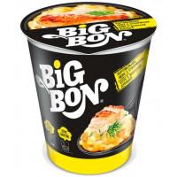 Пюре картофельное Биг бон с сухариками с соусом с жареной курицей 60г